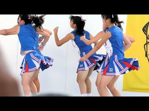 [4K]明秀日立チアダンス部Blue Fairies 第57回水戸黄門まつり銀杏坂ステージ4 ▶3:10