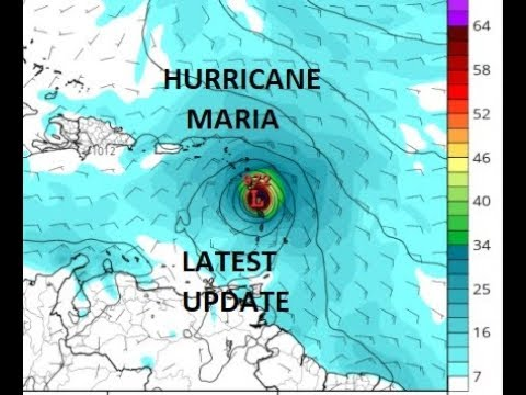 HURRICANE MARIA 75 MPH WINDS FORECAST TO BECMOE A MAJOR HURRICANE, WARNINGS LEEWARD ISLANDS
