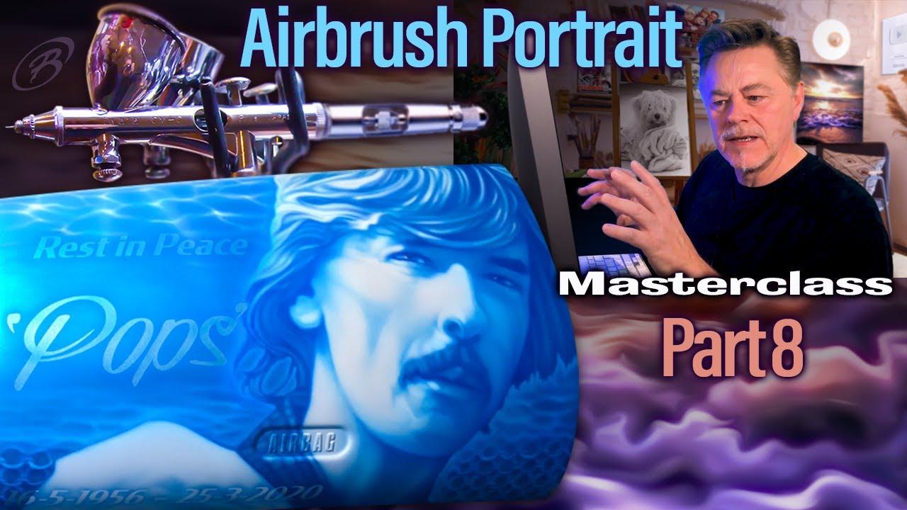 Airbrush & Photoshop Masterclass - Part 8