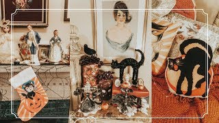 Vintage Halloween Decor Haul and Room Tour