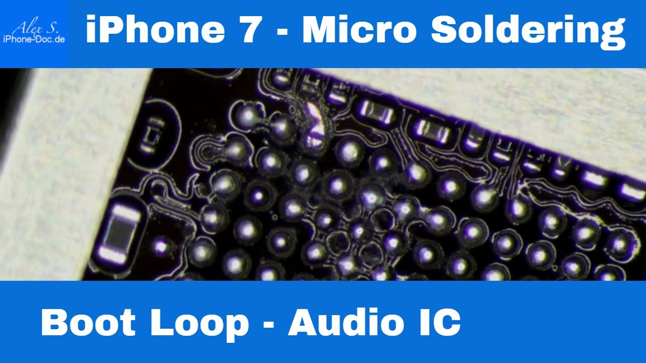 iphone 7 audio ic reparatur berlin