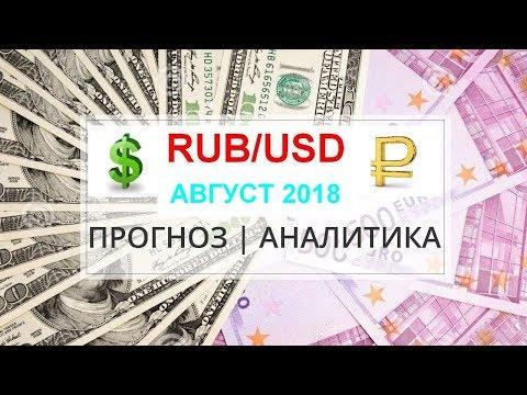 ПРОГНОЗ КУРСА ДОЛЛАРА НА АВГУСТ 2018