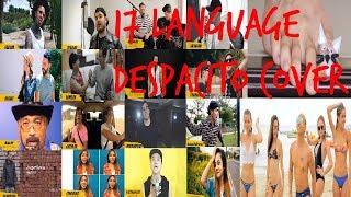 Despacito COVER in 17 Different Languages!!!