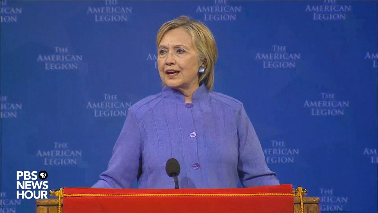 Clinton's full speech at American Legion
