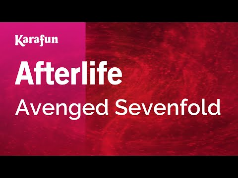 Karaoke Afterlife - Avenged Sevenfold *