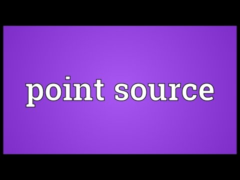 Point source Meaning