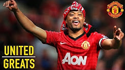 Patrice Evra | Manchester United Greats