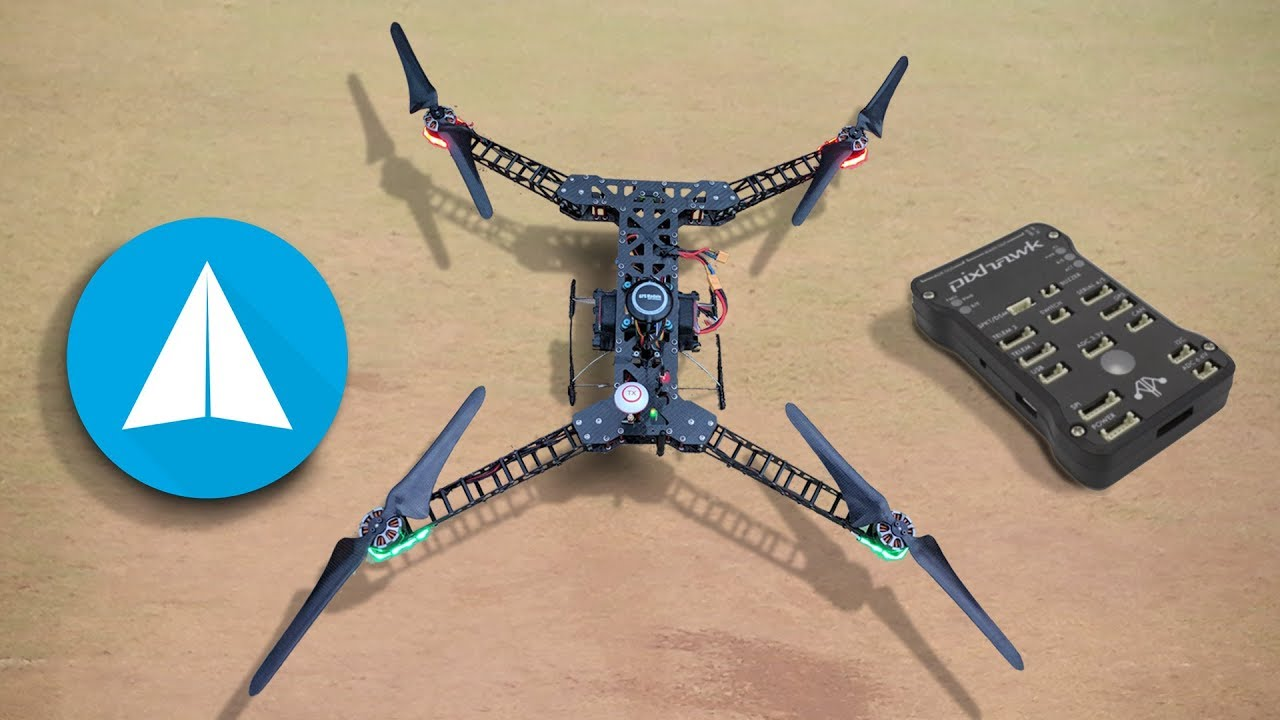Automated Drone Mapping using Pixhawk and Tower