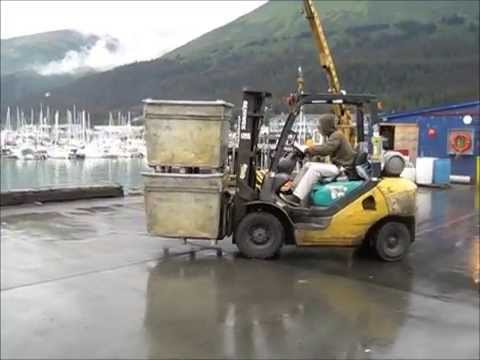 Not Very Good Forklift Skills