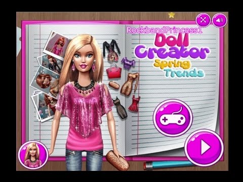 Free Barbie Games Online Youtube