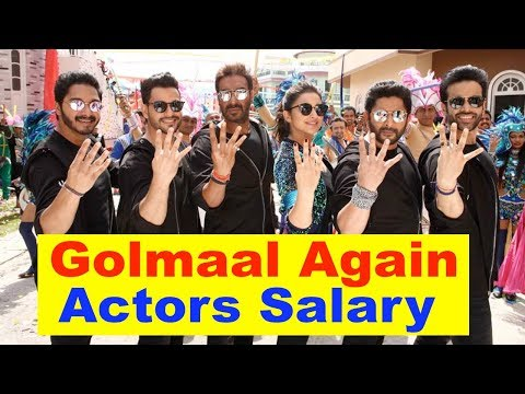 Shocking Salary Of Golmaal Again Actors | Ajay Devgan, Parineeti Chopra, Arshad Warsi
