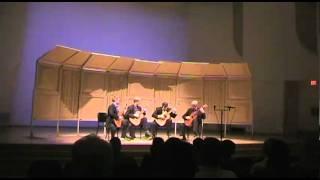 Minneapolis Guitar Quartet - Tähdet Taivahalla by Maria Kalaniemi