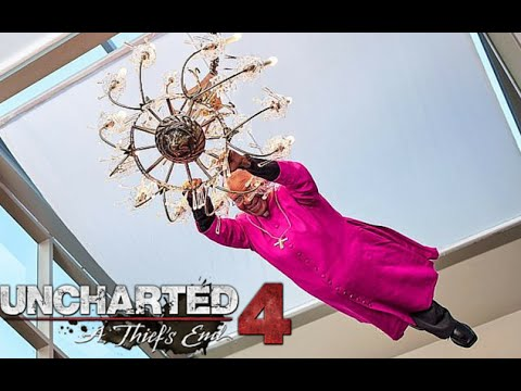 Swinging From The Chandelier Uncharted 4 Beta Funny Moment S