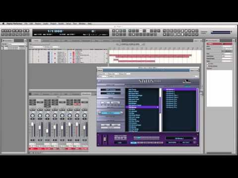 Gérer les Multi-Sorties dans Digital Performer 8 et 9 (français)