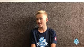 Spieler Interview mit Silas von der B14 Marmots