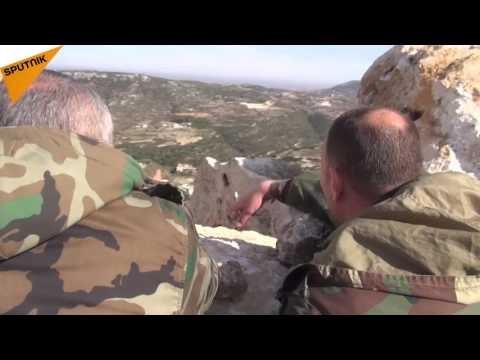 Syrian Soldiers Fight In Latakia