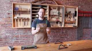 Sharpening The Essential Card Scraper - Daniel Chaffin Furniture Makers