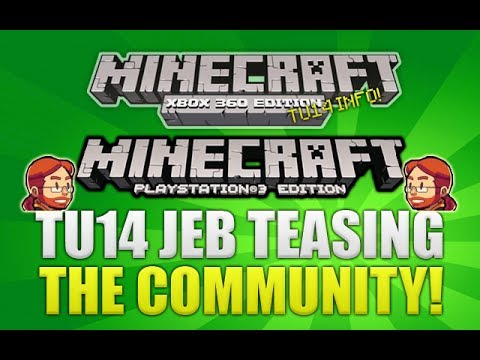Minecraft Xbox 360 & PS3 Jeb Teasing Us About