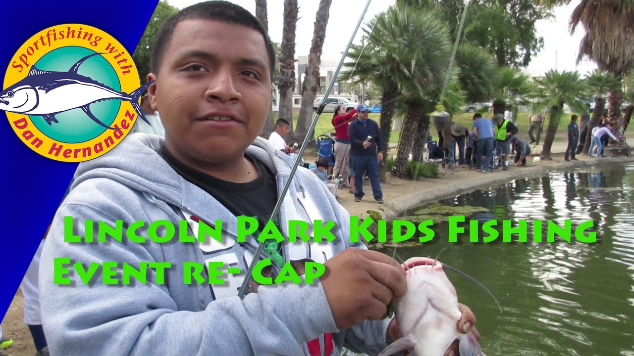 Lincoln Park Free Kids Fishing Event Re-Cap | SPORT FISHING