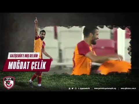 Gazişehir Gaziantep Muğdat Çelik'i bu video ile duyurdu