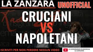 Cruciani commenta le minacce ricevute dai napoletani.La Zanzara 10 Gennaio 2018