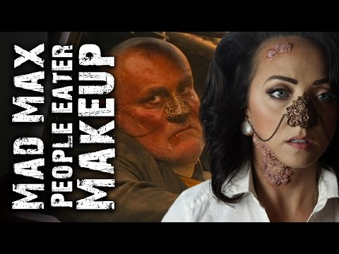 Mad Max People Eater Makeup/Costume