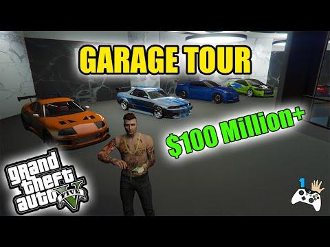 GTA 5 - $100 Million+ Garage Tour 2020