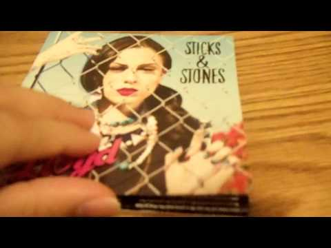 Cher Lloyd - Sticks & Stones US Version Unboxing