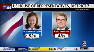 Voters in bellaire – the 7th district are hugely responsible for democrat lizzie pannill fletcher's congressional win beating out republican rep. john culb...