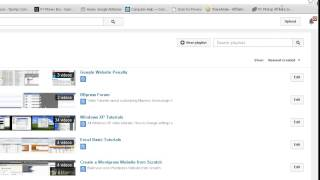 Add a Video To A Playlist On Youtube 2014