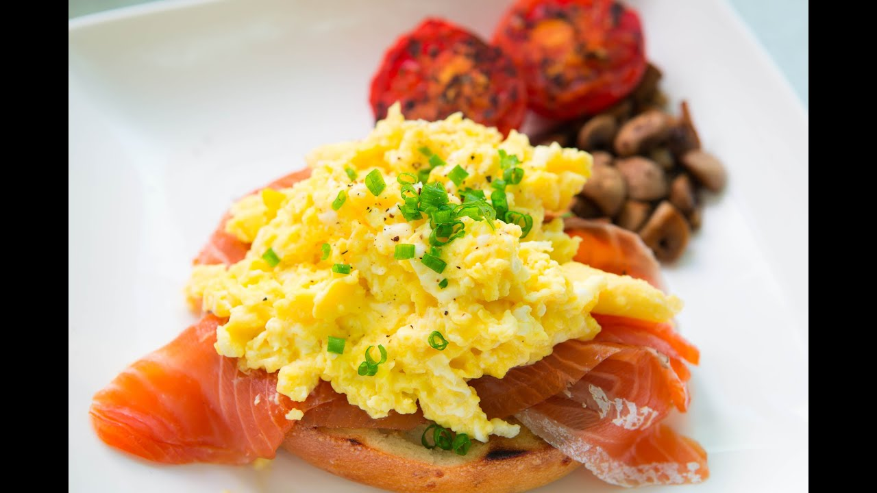 Cooking With Zongye Ep7  Scrambled Eggs With Smoked Salmon