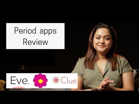 Period Tracking Apps Review | Clue, Eve, Period Tracker Lite