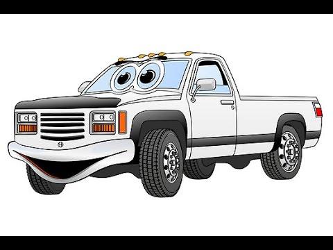 Camionetas De Dibujos Animados Dibujo Animados Infantiles