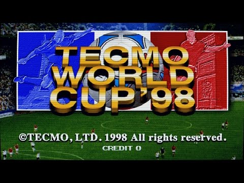 Tecmo World Cup 98  Arcade Game