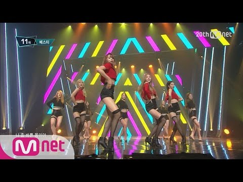 """""""Excuse Me~~"""" 'BESTie' showing Sexy performance! [M COUNTDOWN] EP.425"""