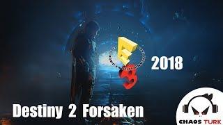 Destiny 2  Forsaken   E3 2018 Story Reveal Trailer   PS4