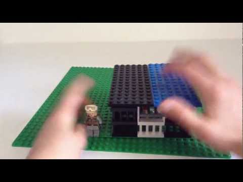 How to Make a Lego Parrot Cage