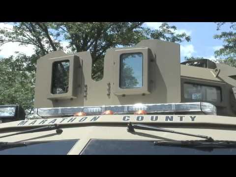 SWAT vehicle for Marathon County unveiled