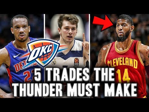 5 Trades The Oklahoma City Thunder Need To Make Before The NBA Trade Deadline