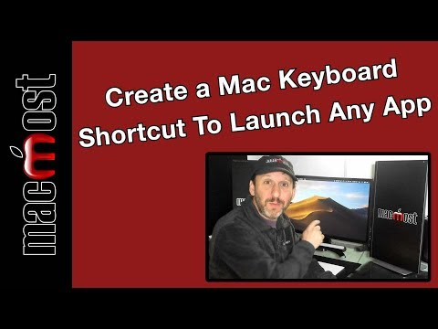 Create A Mac Keyboard Shortcut To Launch Any App (MacMost #1925)