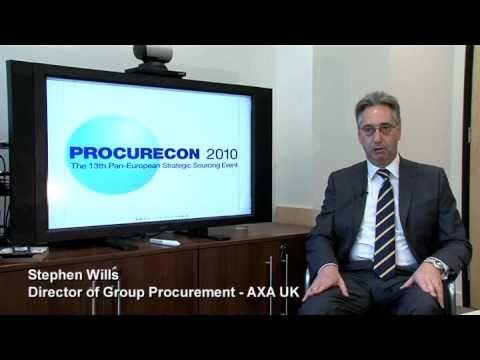 Procurement Challenges And Future, Stephen Wills AXA - Procurecon