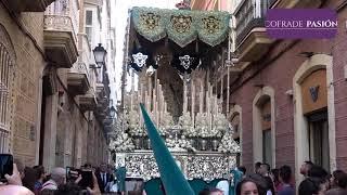 Virgen del Patrocinio (Prendimiento) por B. Aires, E. Marinas y S. Agustín (Semana Santa Cádiz 2019)