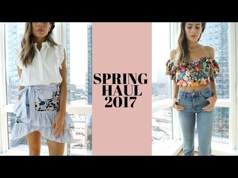 spring-2017-haul-+try-on-(wedding-|-prom-|-music-festival-outfits)-lulus,-river-island,-topshop,zara