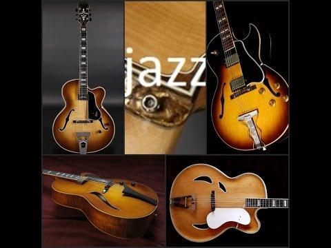 TEST 2  Gibson 175 , Höfner A2L  Committee, New President, Jazzica, Lang, www.germanjazzguitars.de
