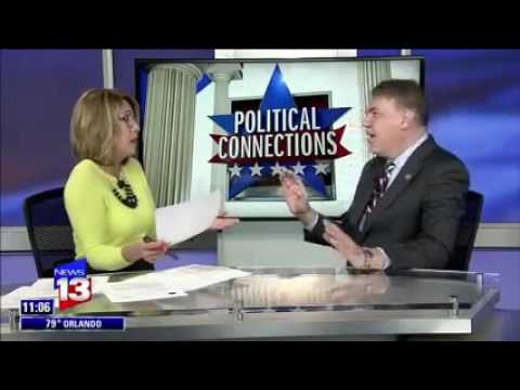 Rep. Alan Grayson Interview on 'Political Connections' (May 15, 2016)