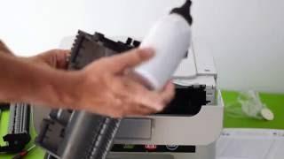 Toner Refill/Reset on Brother HL 2130 Printer