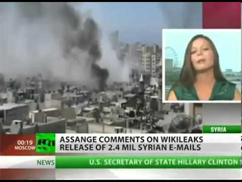 WIKILEAKS: Syria Files EXPOSED. 2.4 Million Emails On WAR In SYRIA!