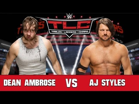 WWE TLC 2016 - WWE Tables, Ladders & Chairs 2016 - WWE TLC 4 December 2016