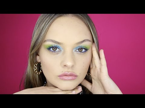 Aqua Inspired Eyes With Lucy Garland | Revlon