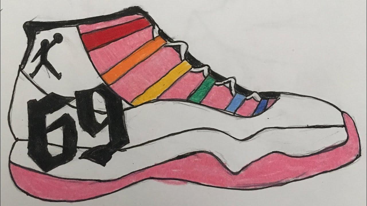 6ix9ine Custom Jordan 11 Shoe